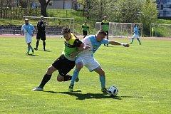 V krajském přeboru se z vítězství nad Osekem radovali hradečtí fotbalisté.
