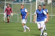 Fotbalisté Třeboně podlehli doma Olešníku 0:1.