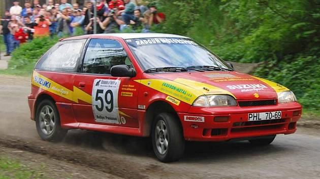 Rallye na Jindřichohradecku. Ilustrační foto.