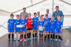 Celkem 16 týmů fotbalových přípravek startovalo na turnaji v Suchdole nad Lužnicí.