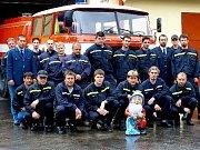Ze života Sboru dobrovolných hasičů v Branné u Třeboně.