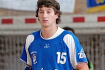 Nejlepším střelcem Třeboně byl na kopřivnické palubovce Michal Naimann, který se trefil sedmkrát.