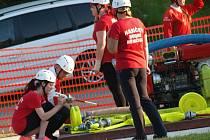 HASIČI Z HORNÍCH NĚMČIC měli na domácí půdě úspěšný start do Jindřichohradecké hasičské ligy. Družstvo žen zvítězilo a muži si vyběhali  čtvrté místo.