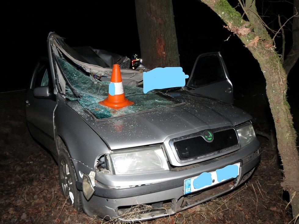 Tragická dopravní nehoda u Třeboně.