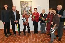 Zahájení výstavy Karel Hájek - Byl jsem při tom.