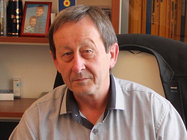Starosta Jindřichova Hradce Stanislav Mrvka (ČSSD).