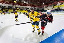 Jindřichohradečtí hokejisté prohráli v krajské lize na domácím ledě se Strakonicemi 2:6.