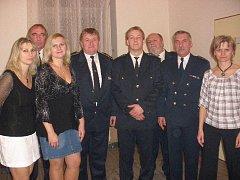 Schůze dobrovolných hasičů v Dačicích.