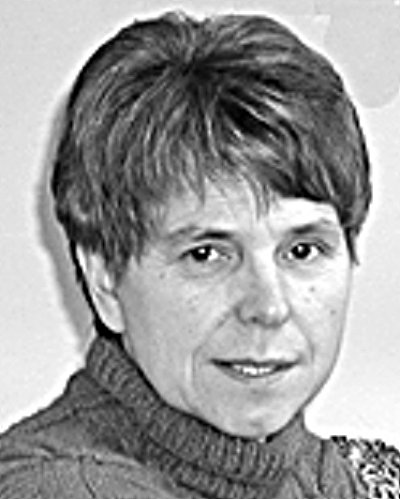Knihovnice Milena Kodýmová.