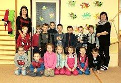 Třída Broučci v mateřské škole v Deštné.