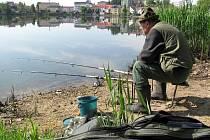 Rybaření u Vajgaru.