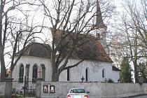 Kostel svatého Václava v J. Hradci. Ilustrační foto.