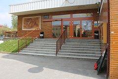 Zimní stadion Jana Marka v Jindřichově Hradci.