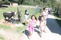 Program pro děti v zooparku Na Hrádečku.