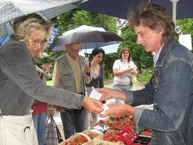 Premiérové farmářské trhy v Jindřichově Hradci