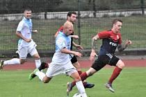 Fotbalisté Soběslavi v předkole MOL Cupu porazili Jindřichův Hradec 3:0.