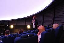 Jindřichohradecká hvězdárna připravila přednášku i výstavu.