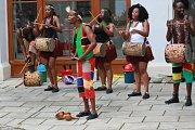 Vystoupení skupiny IYASA bavilo návštěvníky muzea fotografie v Hradci.