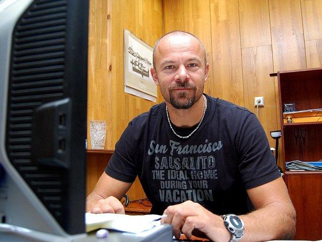 Václav Chalupa při on-line rozhovoru v redakci Deníku