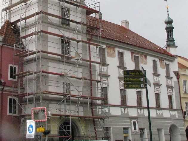 Budova třeboňského muzea. Ilustrační foto.