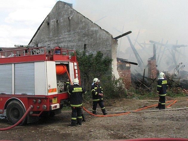 Požár v Horní Pěně