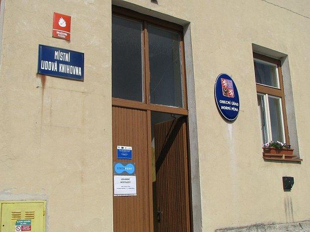 Volby v Horní Pěně.