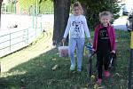 Děti si užily rodinné rybářské závody.