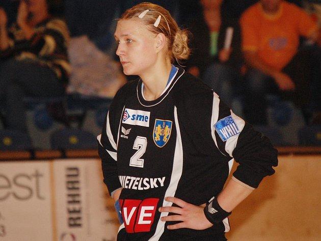 Brankářka Markéta Doláková.