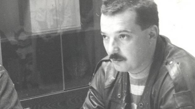 Milan Kašpárek stál v roce 1990 u zrodu jindřichohradeckého  hokejového klubu Vajgar.