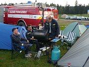 Českorudolečtí hasiči se zúčastnili úspěšného pokusu o světový rekord.