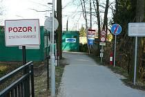 Pěší hraniční přechod v Českých Velenicích. Ilustrační foto.