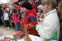 Velikonoční trh Proutku v Plasné.