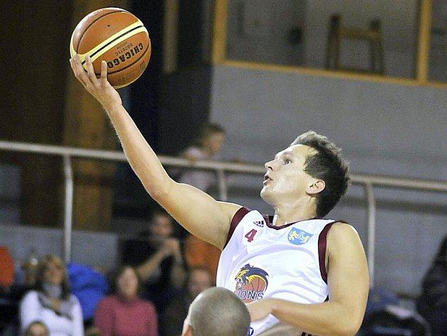 Rozehrávač basketbalistů Lions Jiří Kysela.