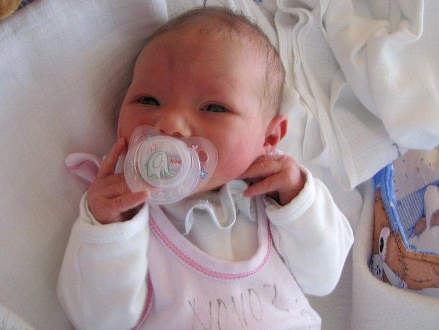 Vanesa Svobodová z Nové Bystřice se narodila 3. března 2012 Veronice Marounkové a Aloisovi Svobodovi. Měřila 48 centimetrů a vážila 2 092 gramů.