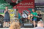 První ročník festivalu Folkový Pluháč.