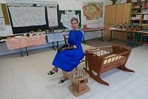 Škola v Kunžaku uspořádala výstavu k národní stovce.