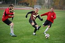 Fotbalisté Dačic a Nové Včelnice se po třetím kole I.A třídy nacházejí ve zcela rozdílném rozpoložení.