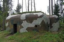 Jeden z objektů Pevnostního areálu Slavonice.