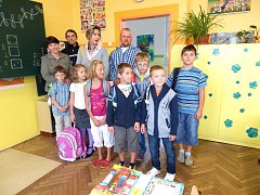 Začátek školy v Jarošově nad Nežárkou.