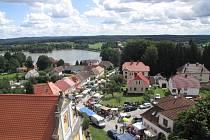 Chlum u Třeboně a rybník Hejtman. Foto: Jitka Válková