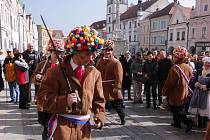 Jihočeský folklorní soubor Úsvit předvede v sobotu v Třeboni měčovou koledu.