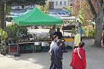 V Dačicích se v sobotu konal farmářský trh.
