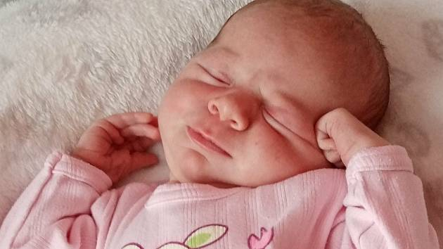 Sourozenci Kristýna a Dominik ze Starého Města pod Landštejnem se dočkali sestřičky. Evelínka Jeroušková se narodila 14. července v 18.35 h. a vážila 3,34 kg.