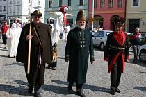 Vynášení smrtky v J. Hradci.