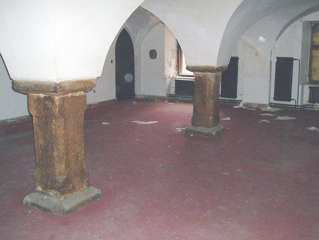 Pohled na objekt třeboňské Besedy.