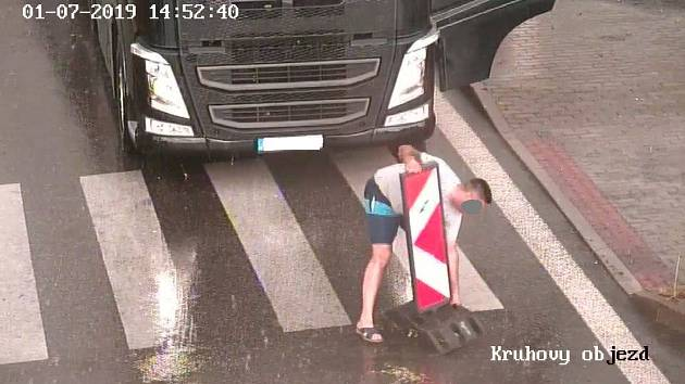 To je nápad, pochvaloval si kamioňák v Třeboni.