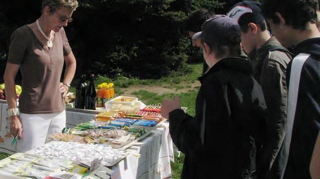 Den zdraví v 3. základní škole v Jindřichově Hradci.