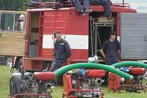 Ze života hasičů v Cizkrajově.