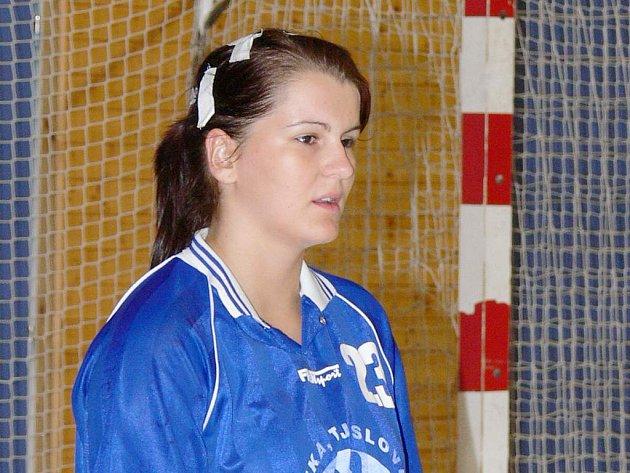 Opora jindřichohradeckých házenkářských dorostenek Kateřina Krupicová opět dostane příležitost v interligovém týmu žen.