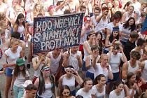 Svátek studentů - Majáles - v pátek 11. května na třetím nádvoří Státního hradu a zámku v Hradci.